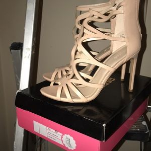Nude Heels, New Condition with Box